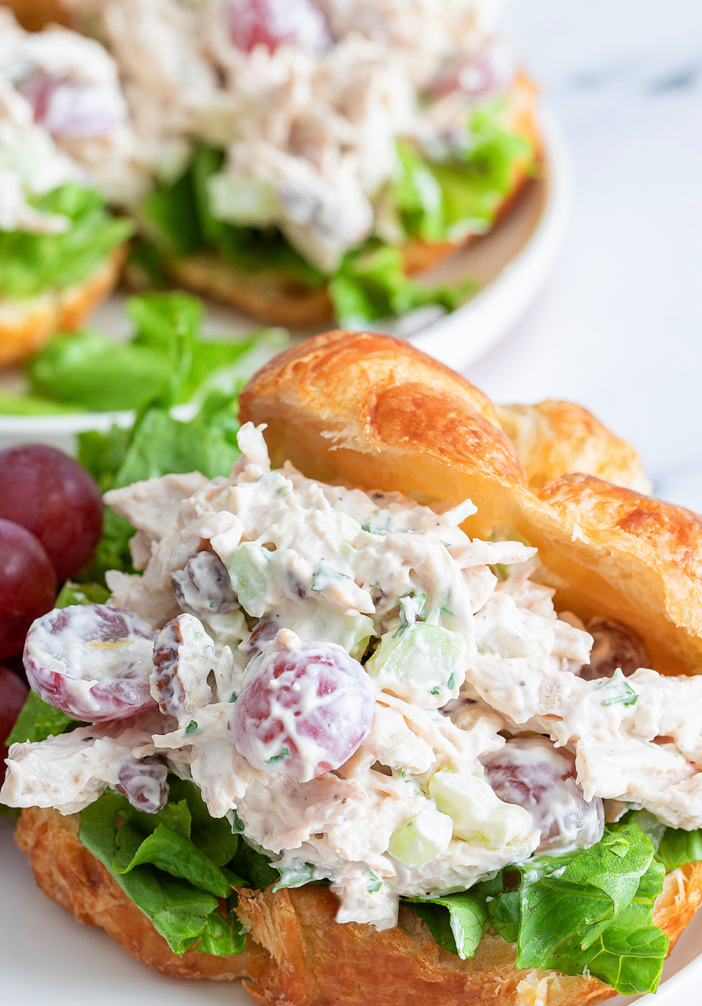 Chicken Salad with Grapes and Pecans The Best Chicken Salad Recipe