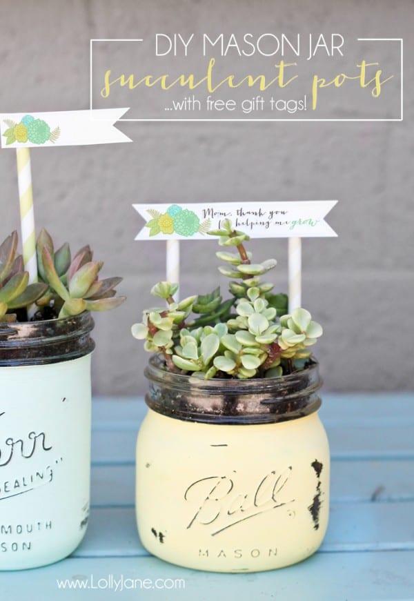 DIY-Mason-Jar-Succulent-Pots-with-free-printable-gift-tags-600x871