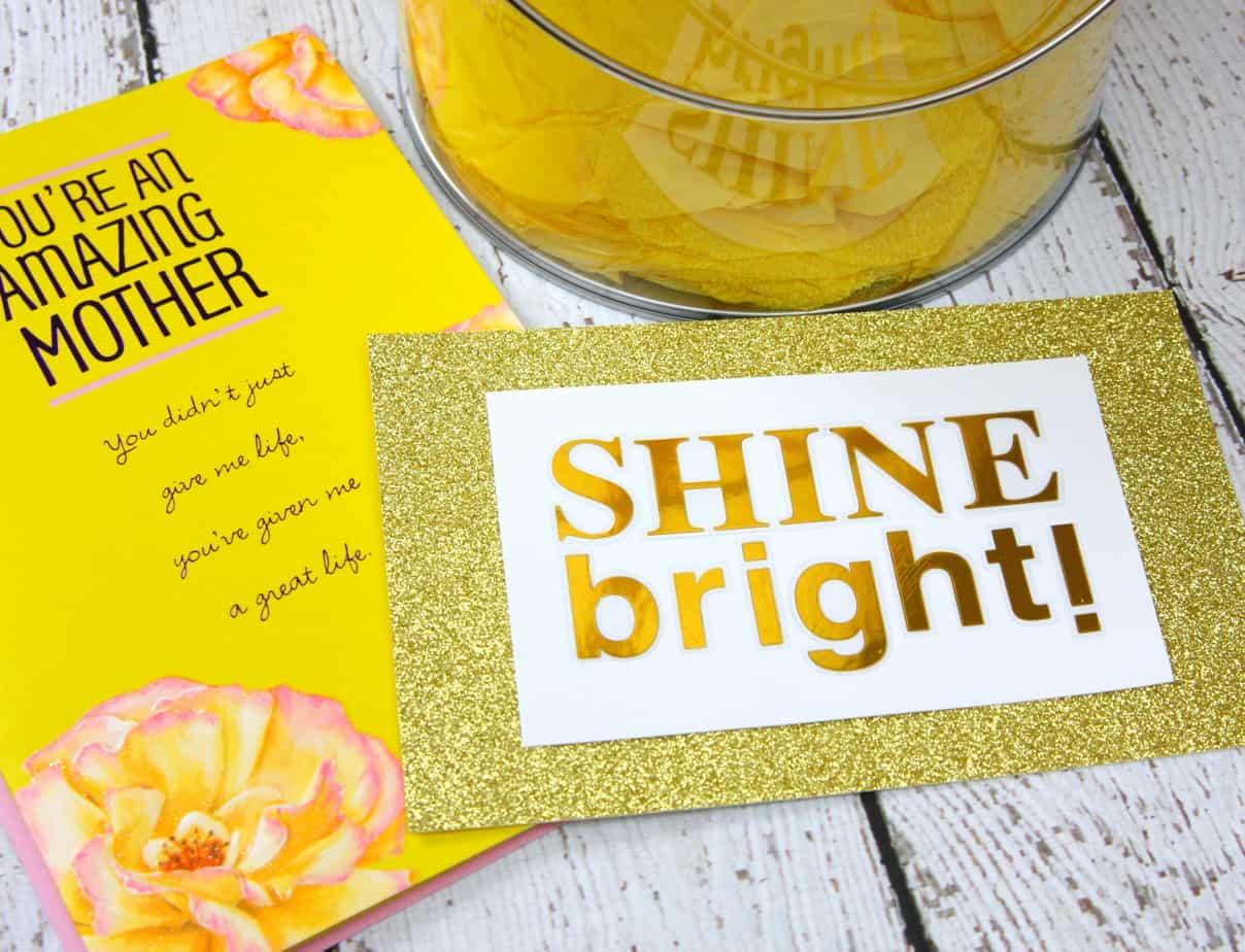 Shine Bright Mother's Day Gift Idea