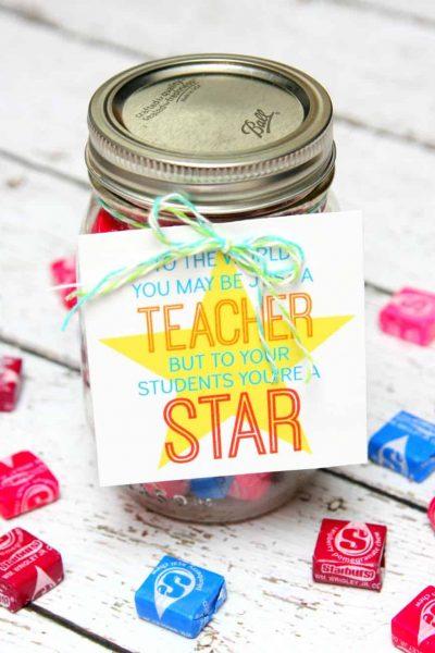 Star Teacher Gift