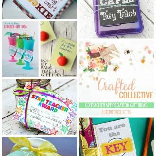 The Crafted Creative {60 Teacher Appreciation Gift Ideas}