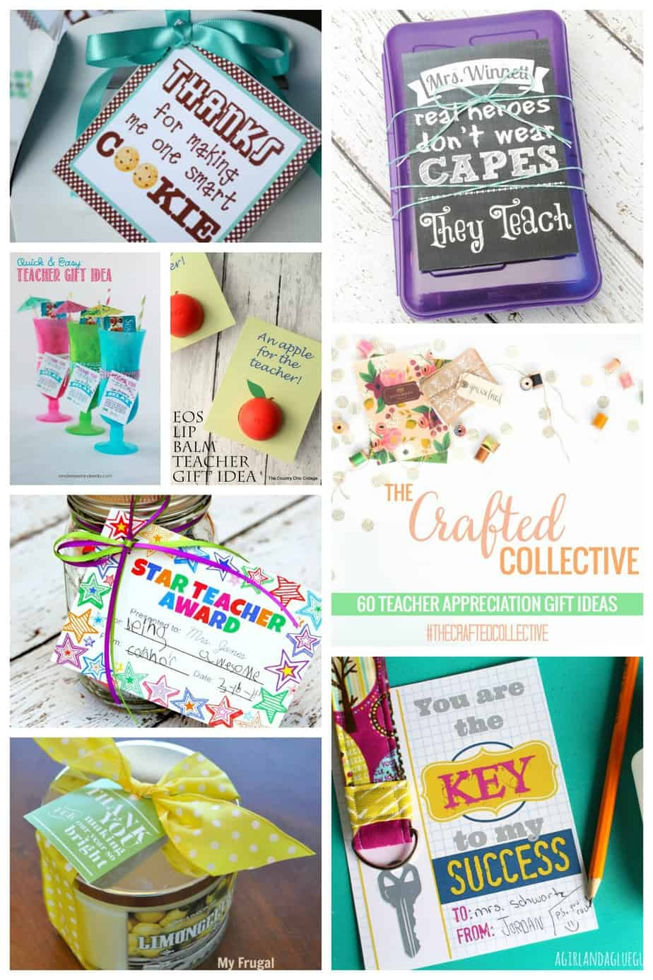 Classroom Recognition Ideas ~ Teacher appreciation gift ideas