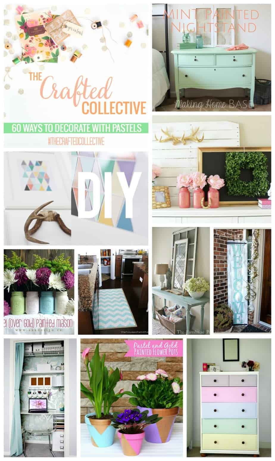 The Crafted Collective - Decorating with Pastels