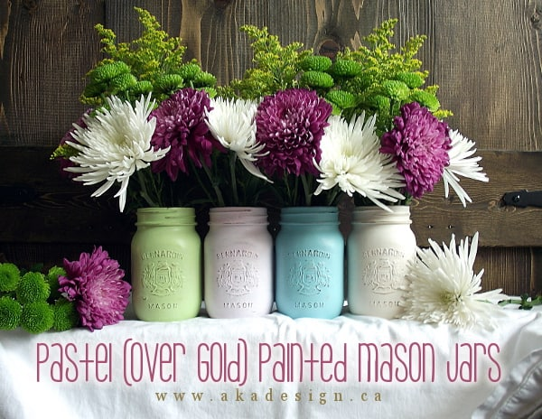 aka-design-pastel-over-gold-painted-mason-jars