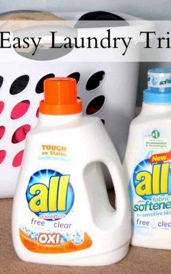 10 Easy Laundry Tricks
