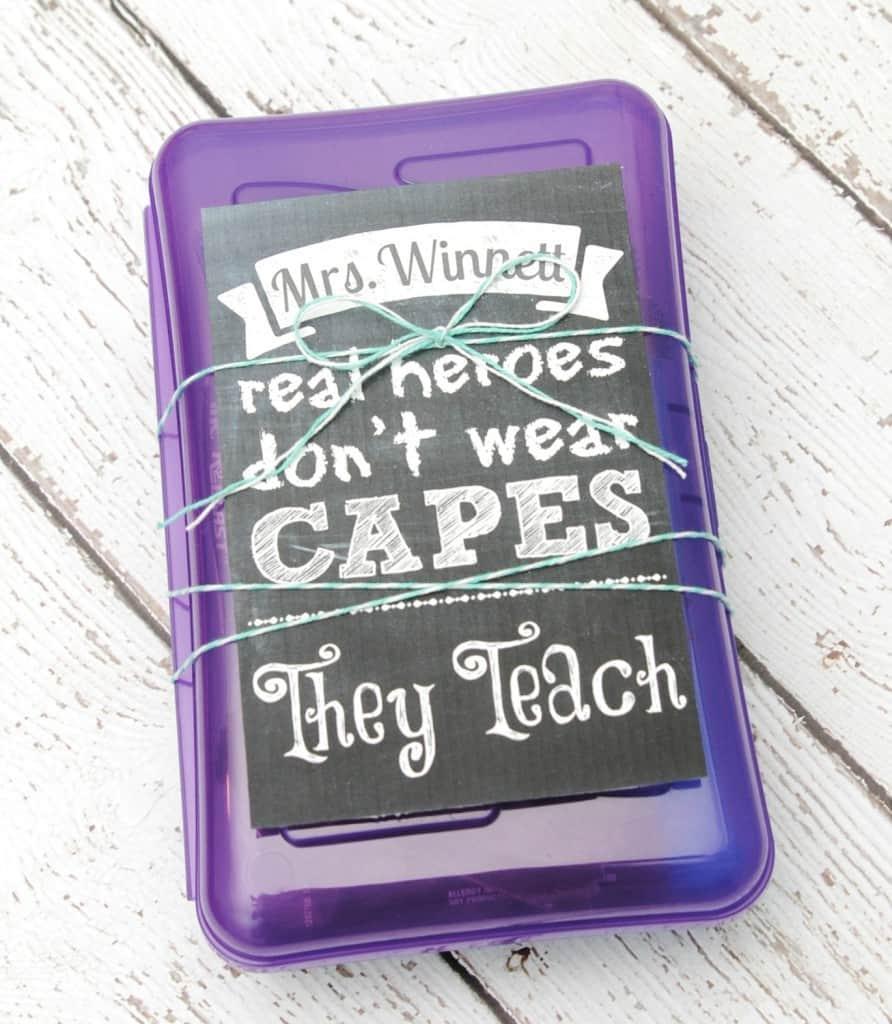 Gift Ideas Real Log Style: Teacher Appreciation Gift Ideas