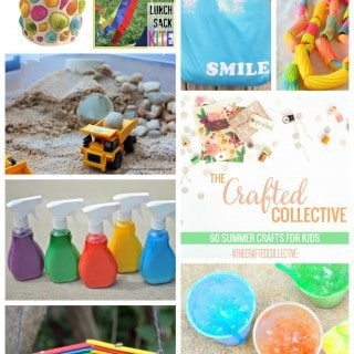 60 Summer Crafts for Kids {The Crafted Collective}