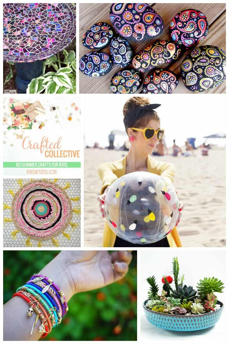 60 summer crafts for kids for Craft ideas for teens