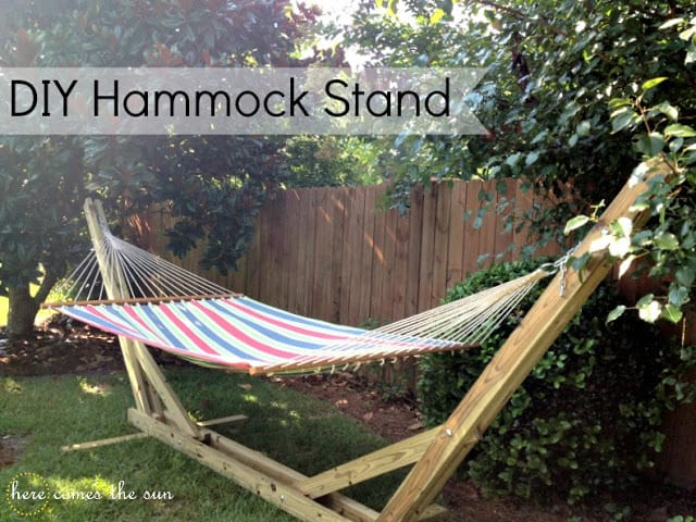 DIY+Hammock+Stand