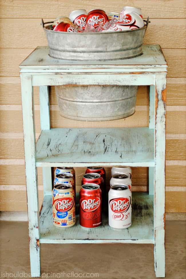 diy+beverage+station