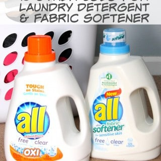 15 other uses for laundry detergent and fabric softener