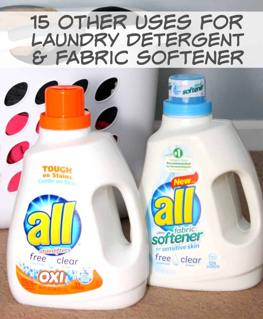 How Much Fabric Softener To Use Other Uses For Laundry Detergent And Fabric Softener