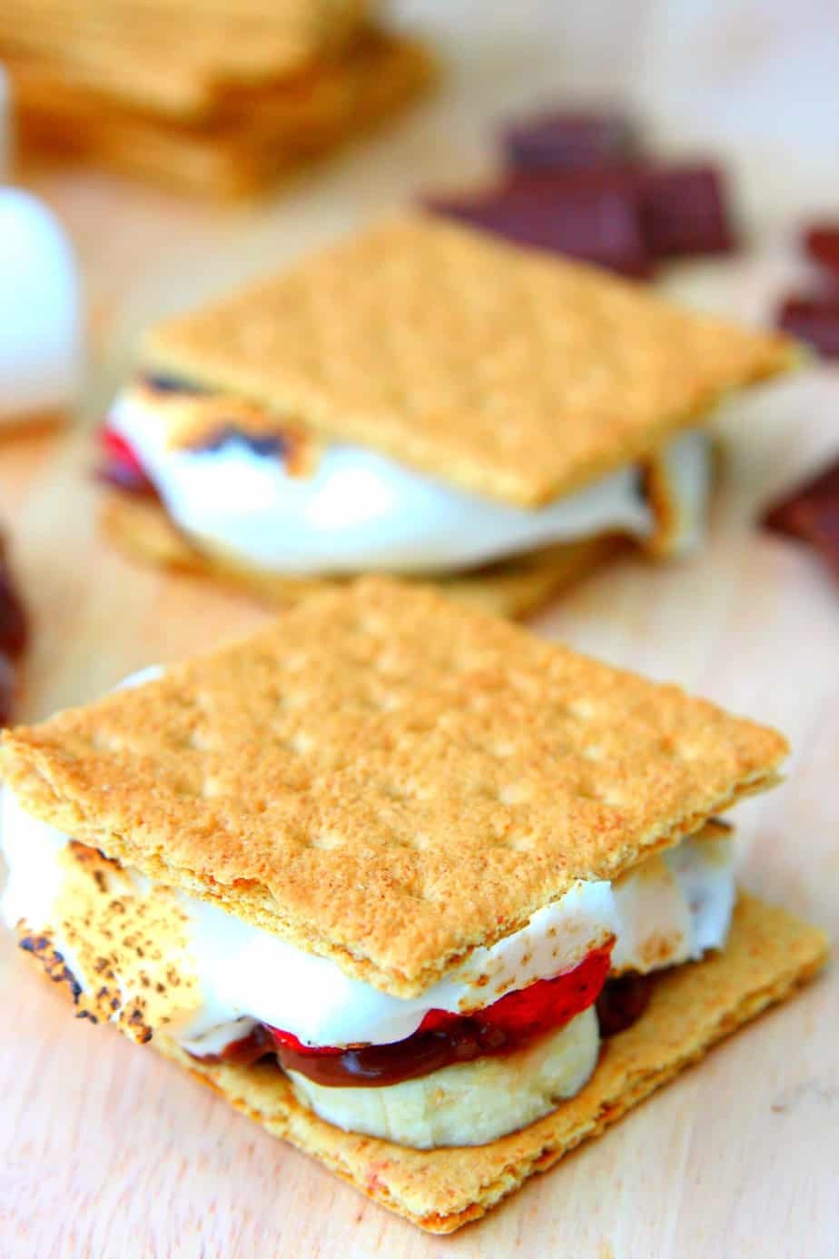 10 Minute S'mores