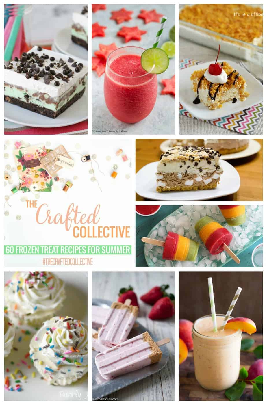 60 Frozen Treats The Crafted Collective