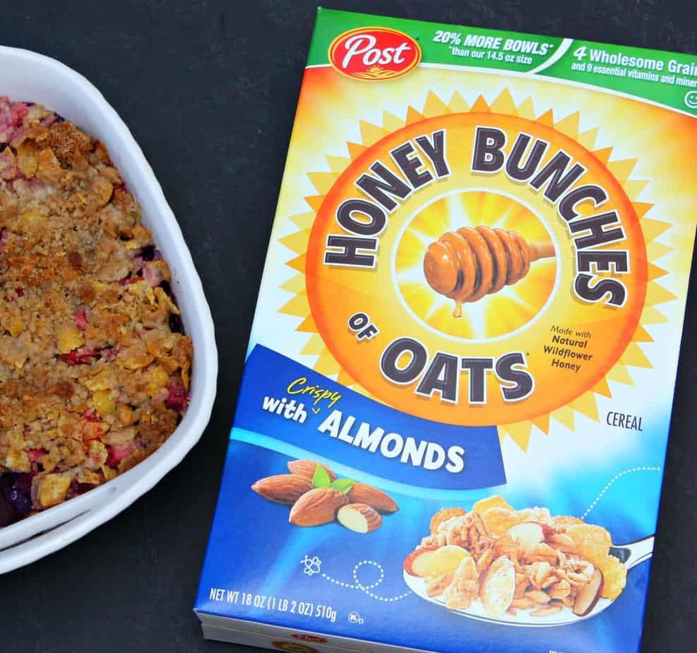 Honey Bunches of Oats Cobbler Recipe