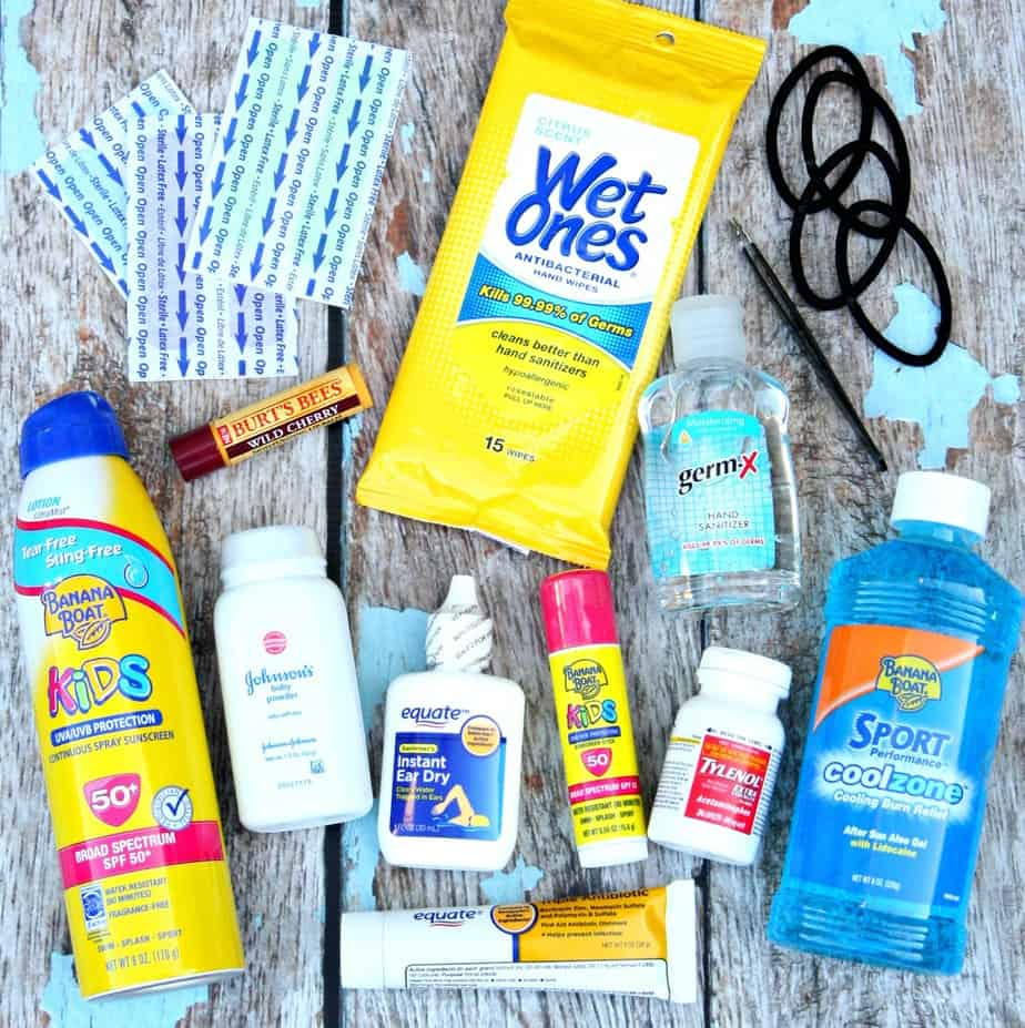 Beach and Pool Survival Kit