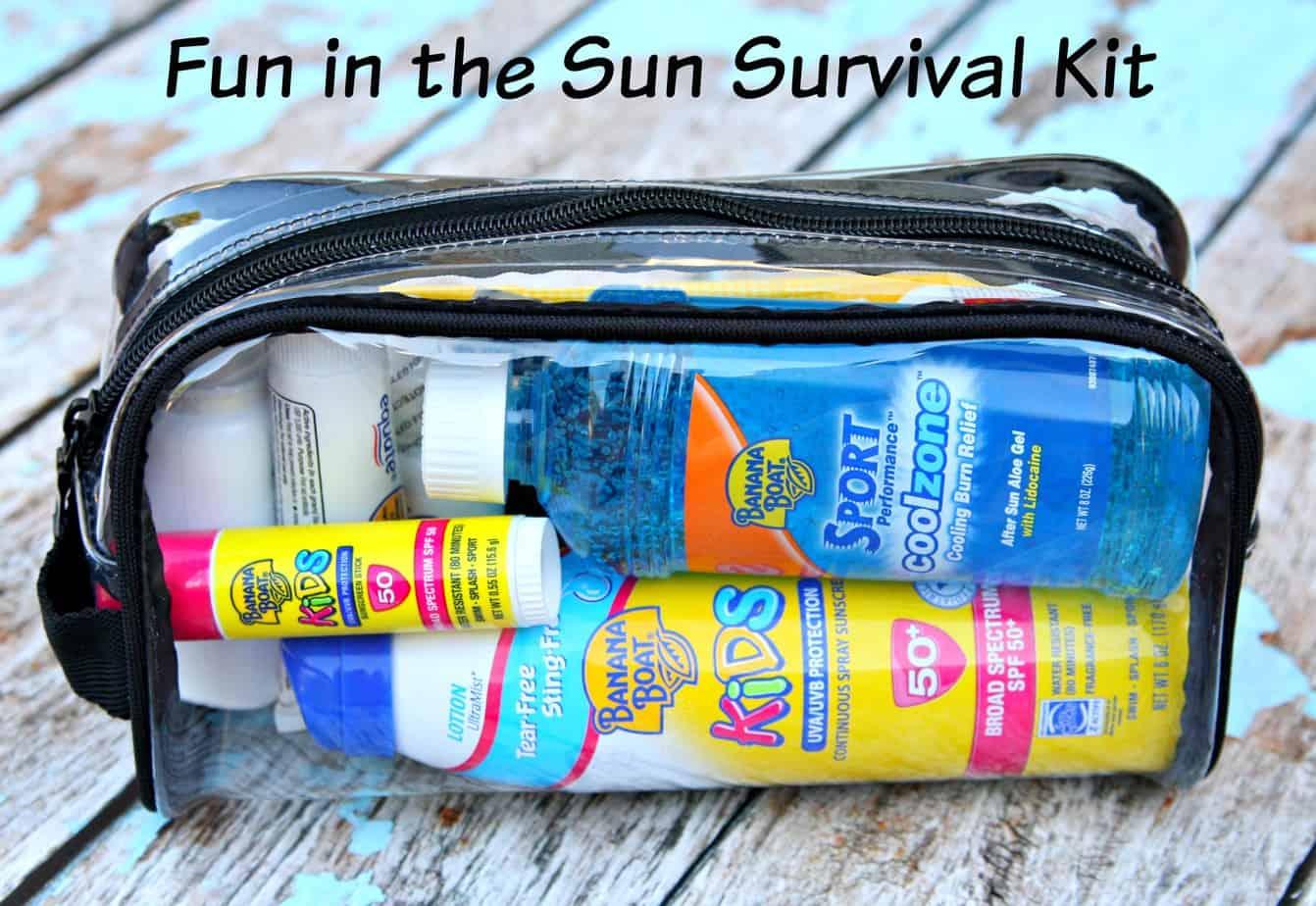 fun in the sun survival kit