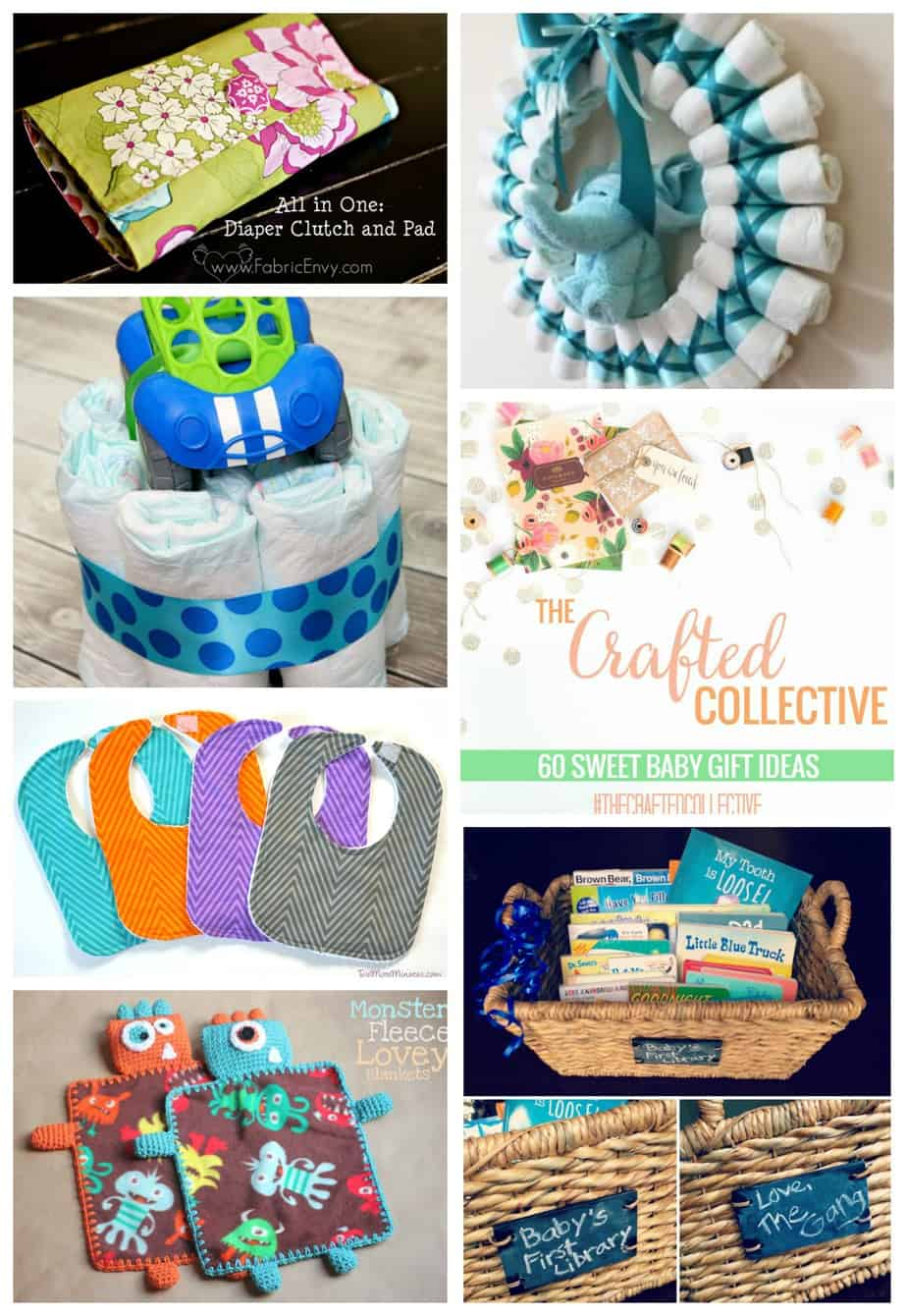 60 Baby Gift Ideas - The Crafted Collective