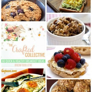 60 Healthy Breakfast Recipes {The Crafted Collective}