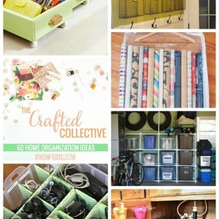 60 Home Organization Ideas {The Crafted Collective}