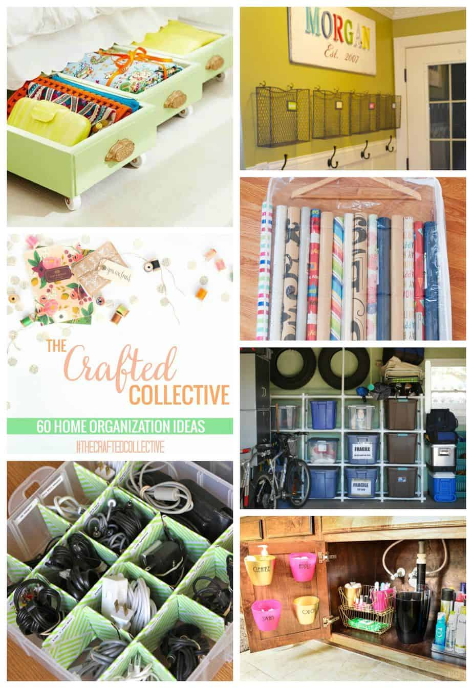 60 Home Organizing Ideas