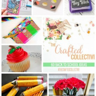 60 Back to School Projects {The Crafted Collective}