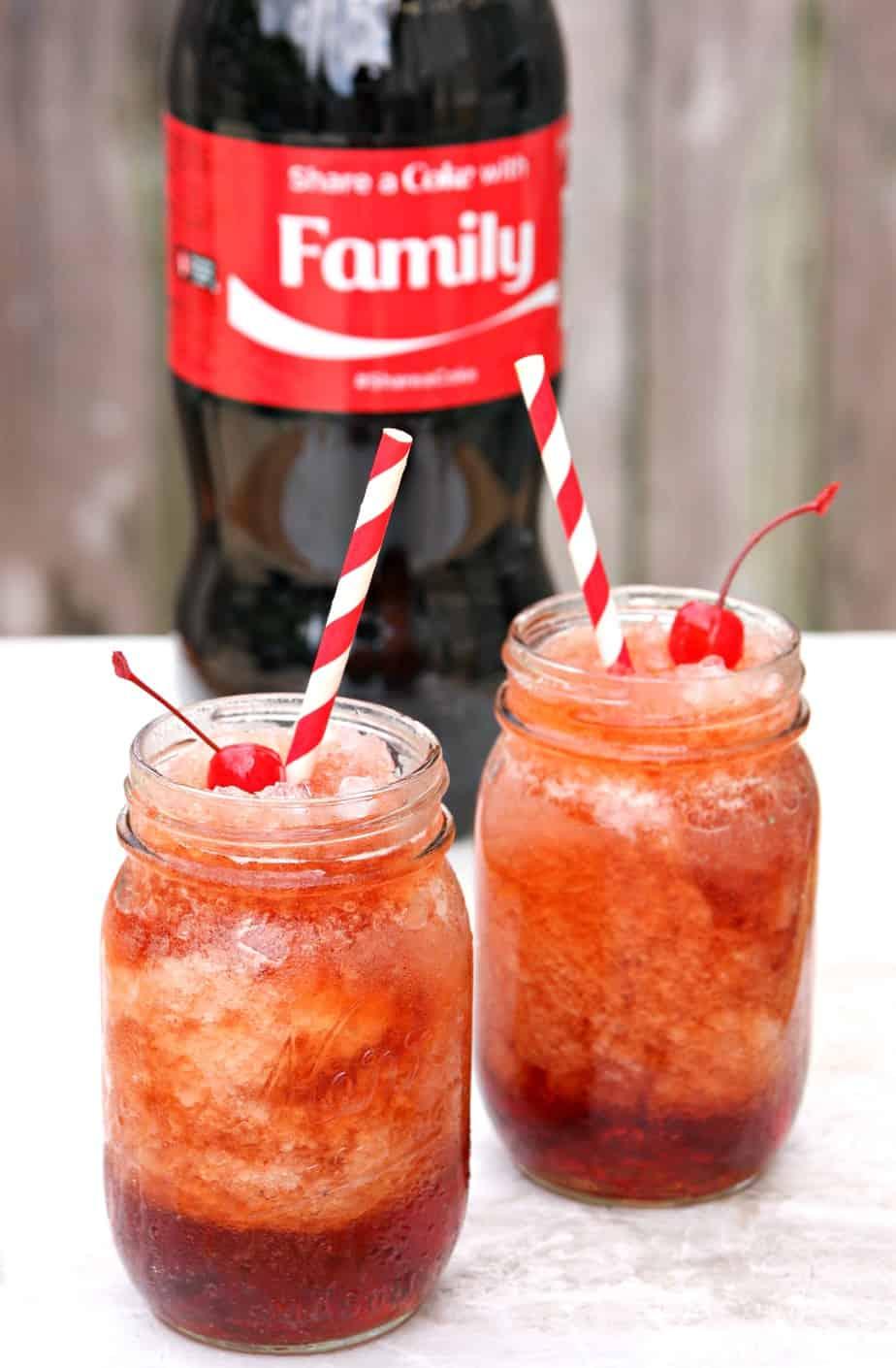 Cherry Coke Slushes