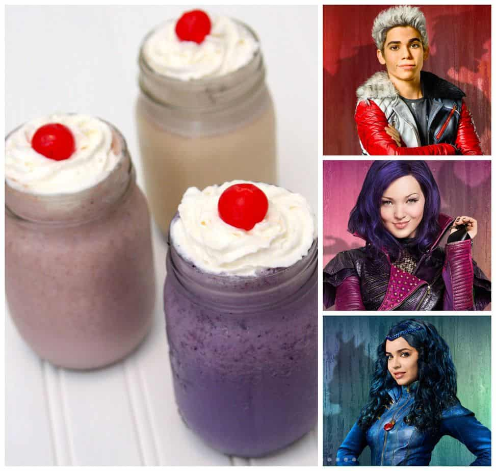 Disney Descendants Milkshake Movie Night