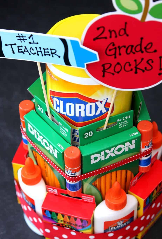 School Supply Cake Final