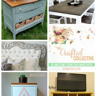 Furniture Makeovers {The Crafted Collective}