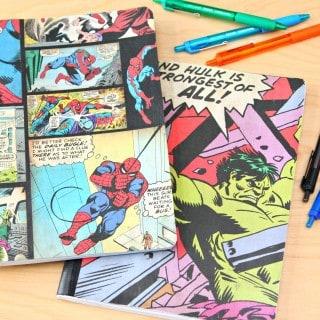 Superhero Notebooks {Back to School Craft Idea}