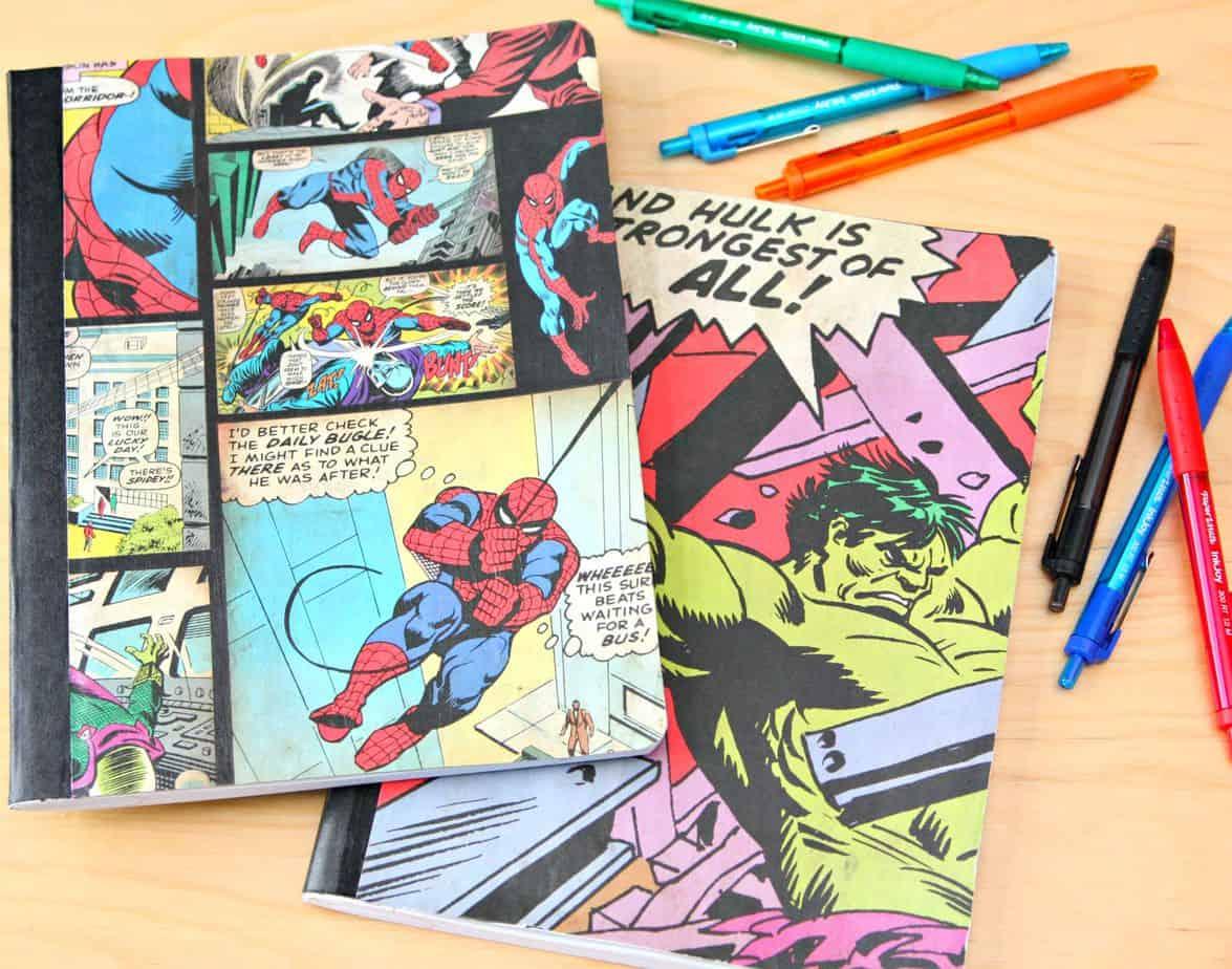 mod podge notebooks