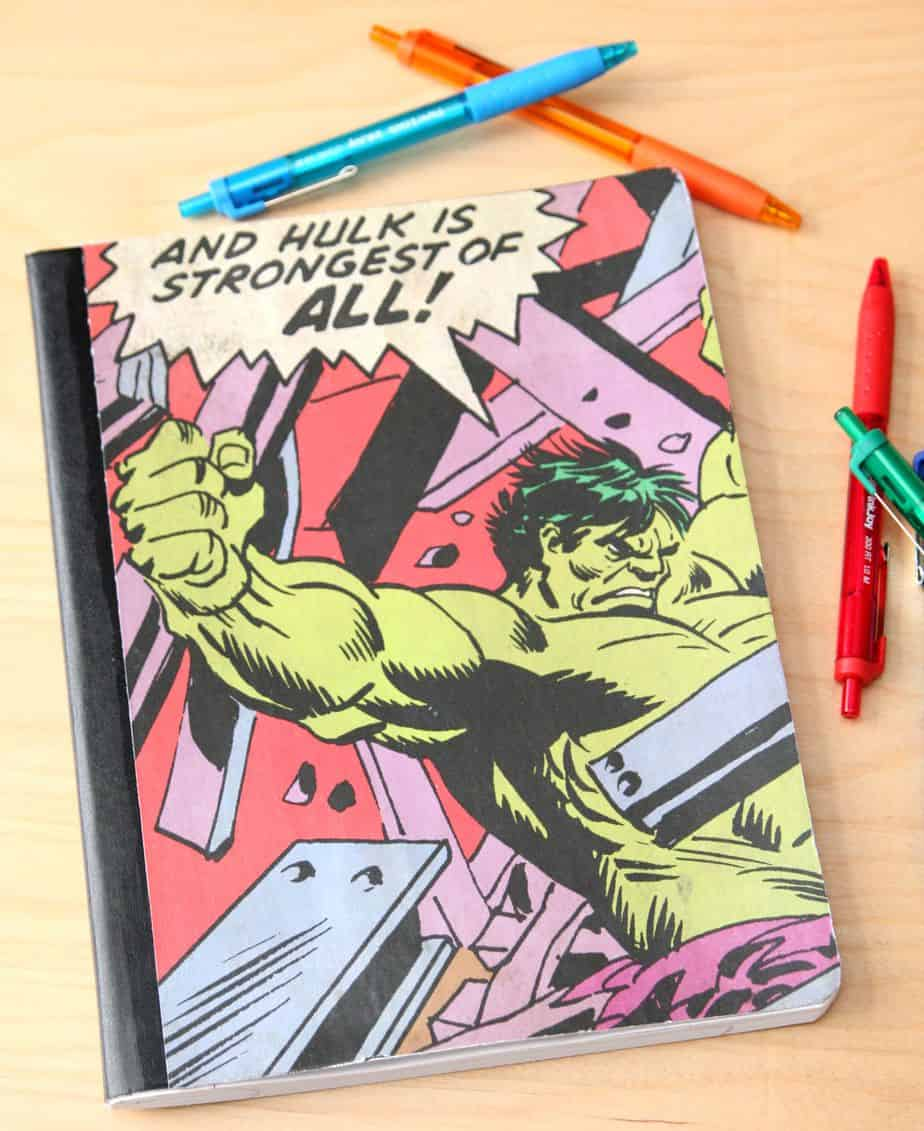 superhero notebooks 4