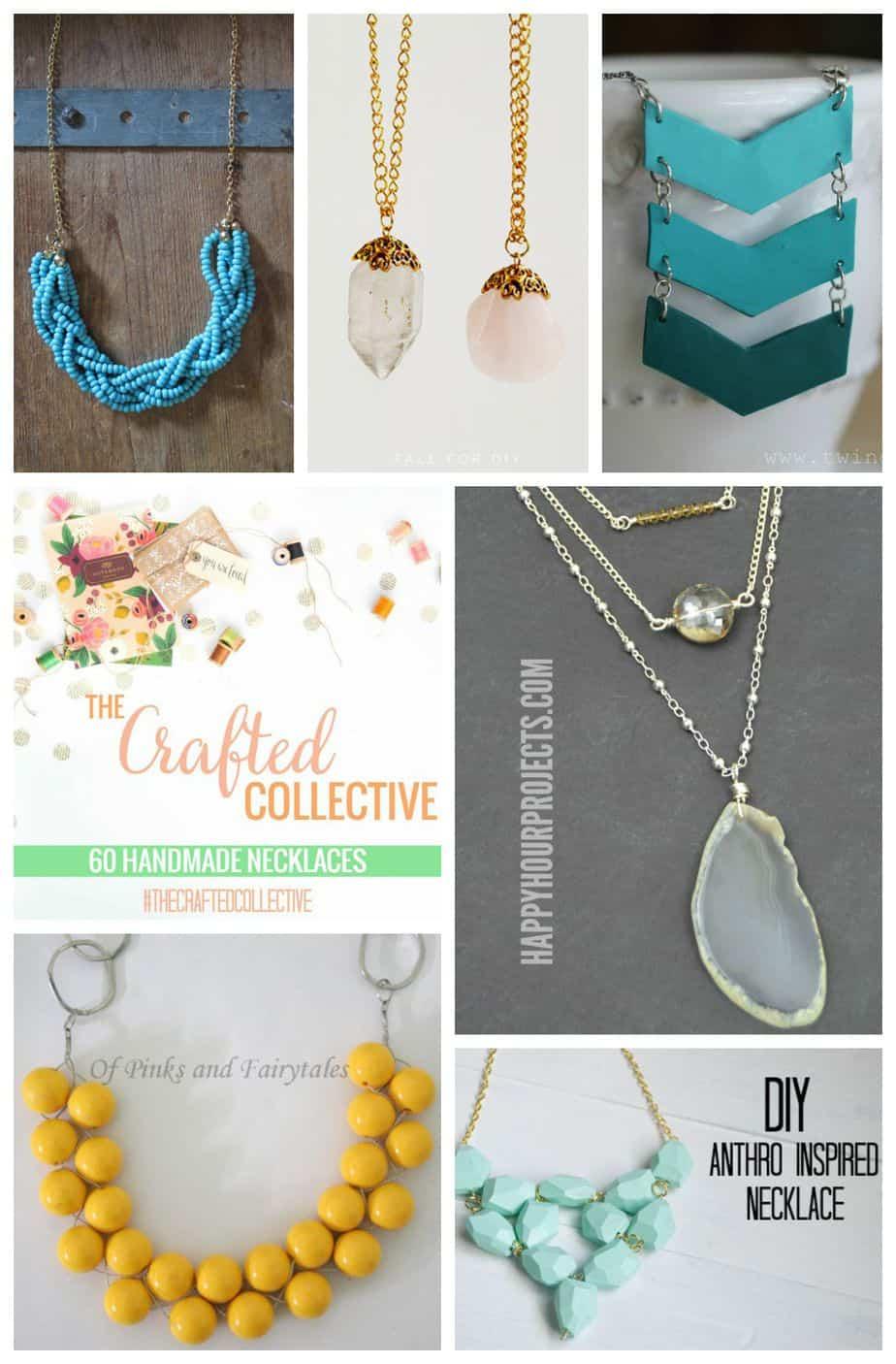 60 Handmade Necklaces