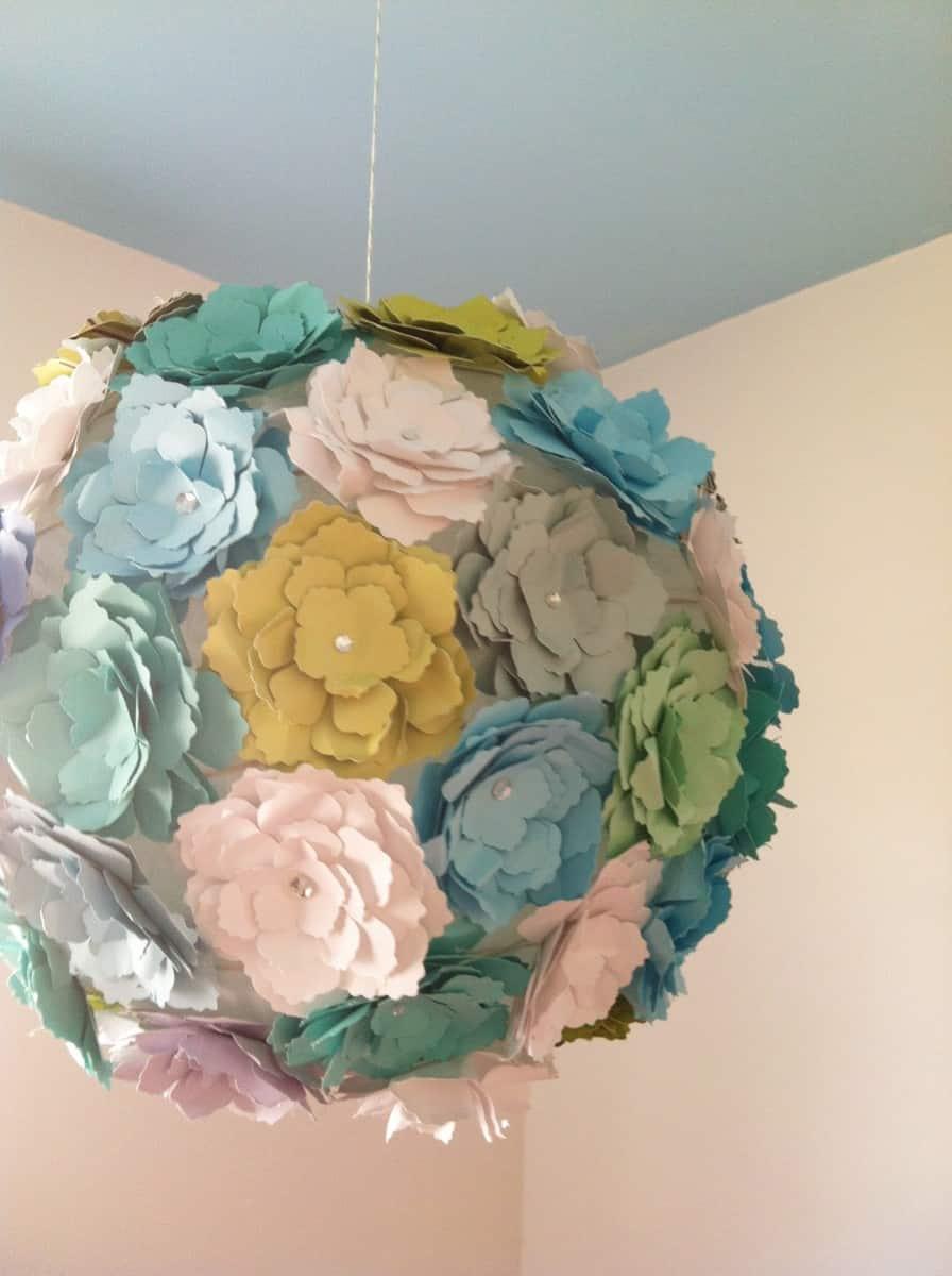 Fabulous Paper Pendant Light view in gallery stunning string pendant light diy Photo1 208 Paper Flower Lantern