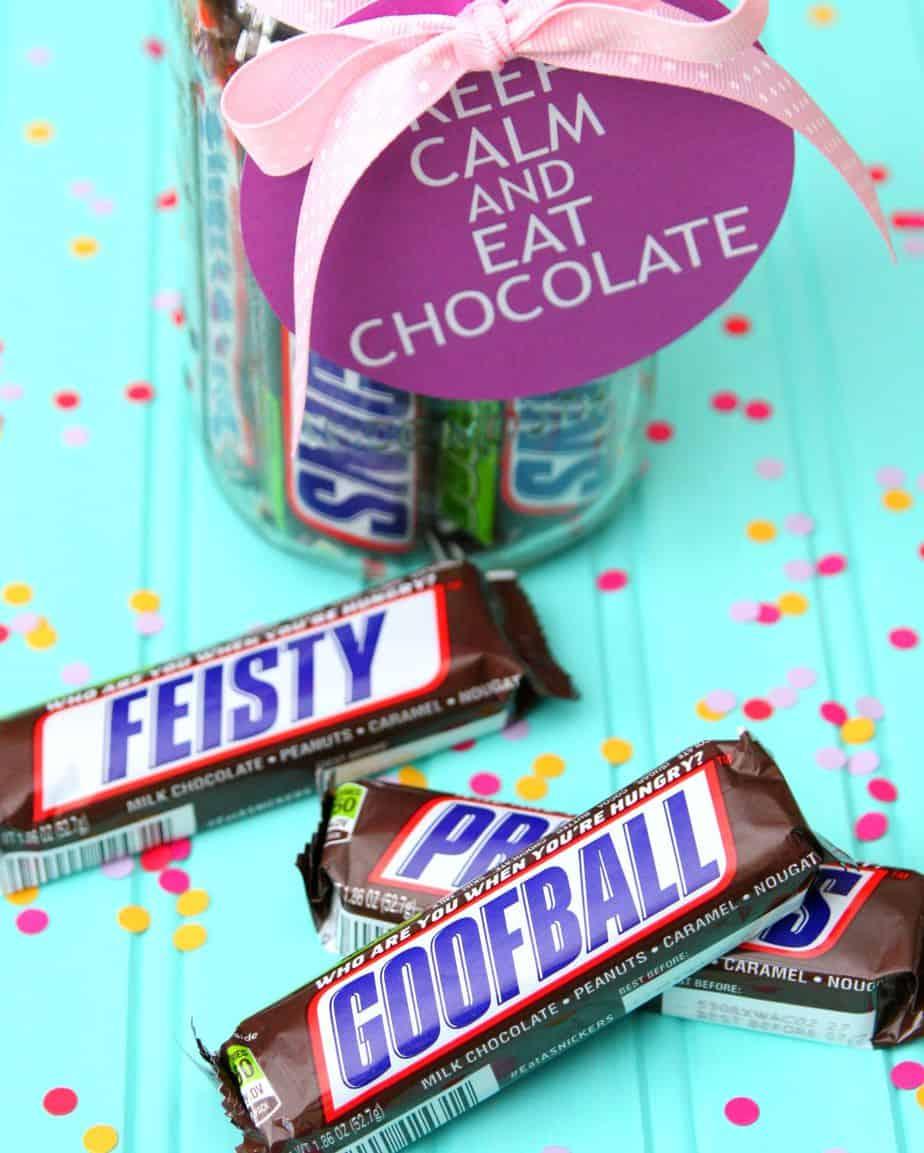 Candy Bar Gift Idea