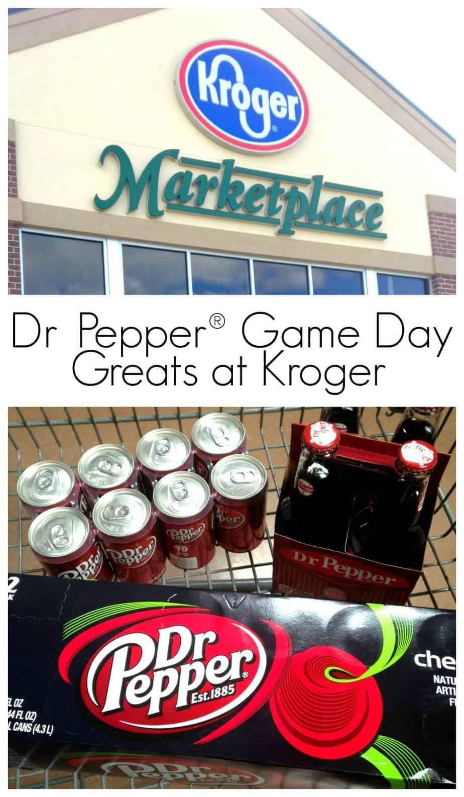Dr. Pepper Game Day Greats at Kroger