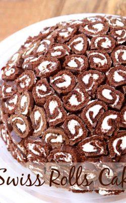Swiss Rolls Cake