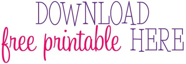 free printable 2