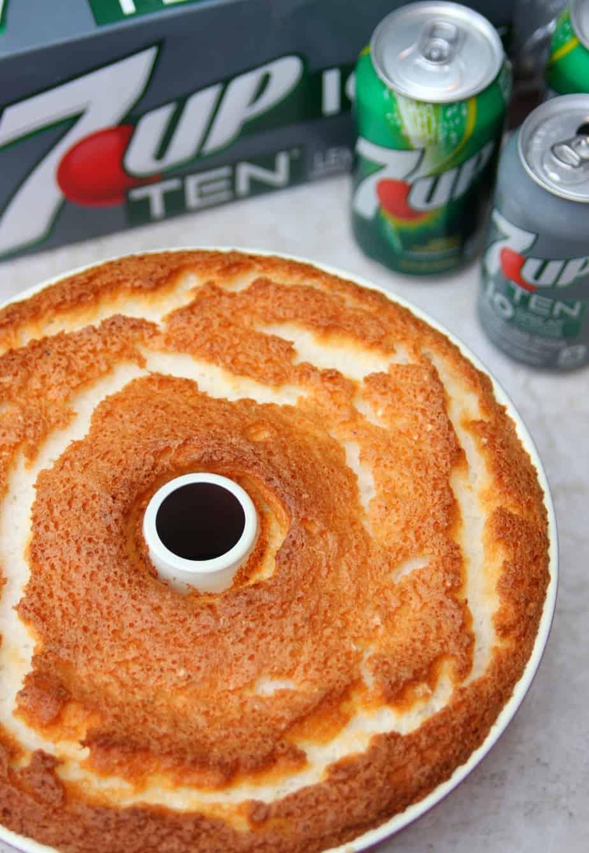 Angel Food Cake 7 Up TEN