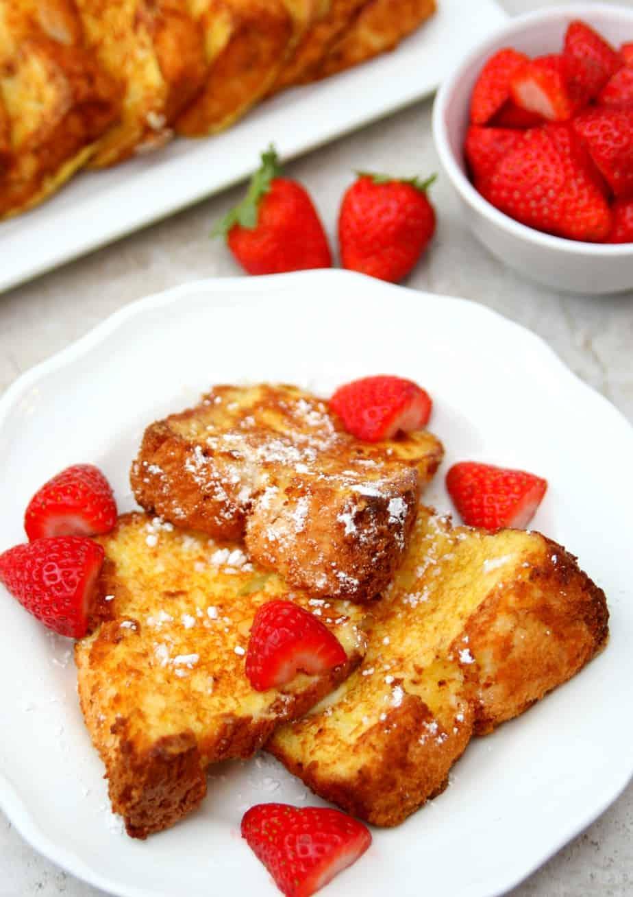 Angel Food Cake French Toast