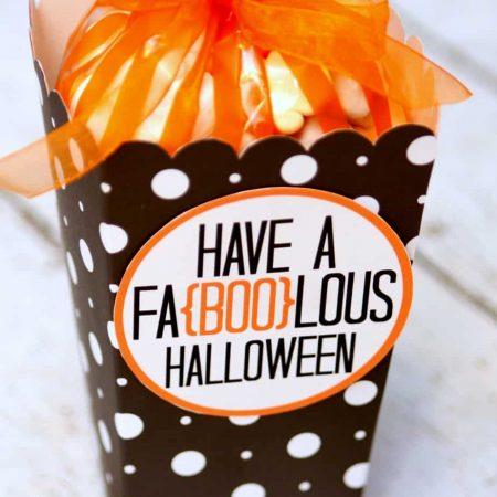 Faboolous Halloween Gift