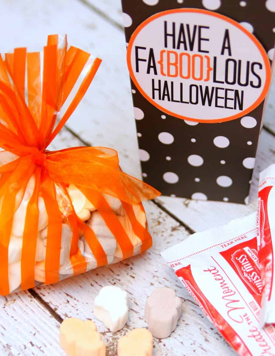 Halloween hot chocolate gift idea - Gift ideas with chocolate ...