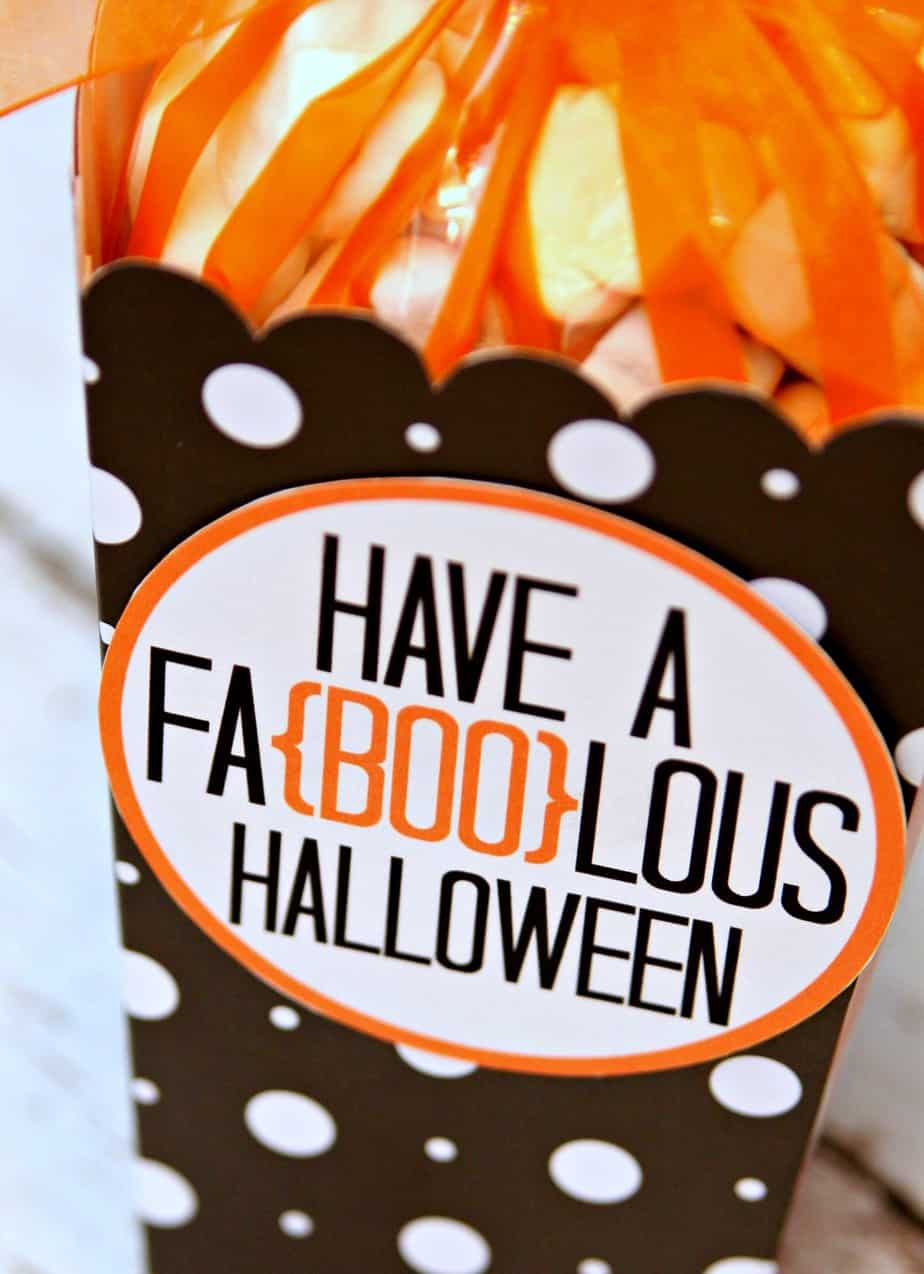 Have a Faboolous Halloween Gift