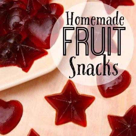 Homemade Fruit Snacks
