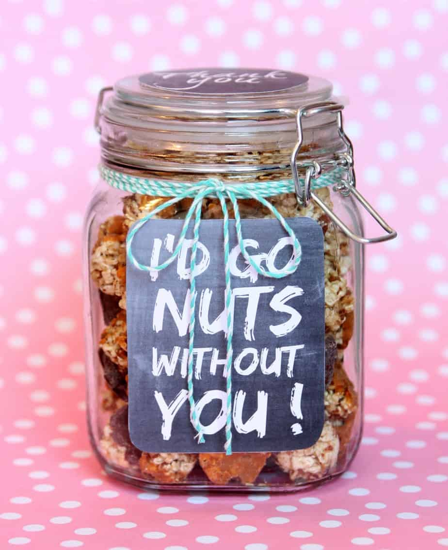 I'd Go Nuts Without You Gift in a Jar