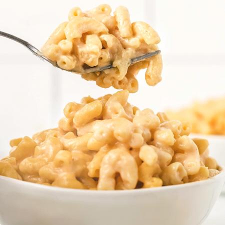 Macaroni & Cheese Recipe Fork Bowl