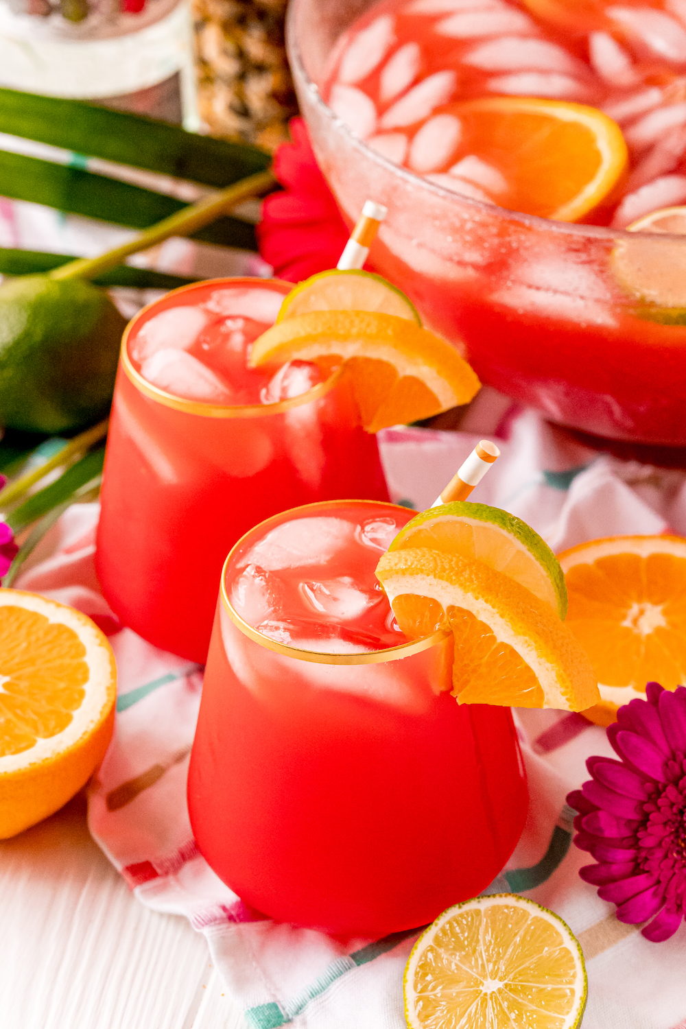 Hurrican Punch Cocktail