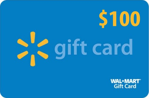 $100 Walmart Gift Card Giveaway - Happy-Go-Lucky