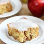 Apple Cinnamon Roll Cake